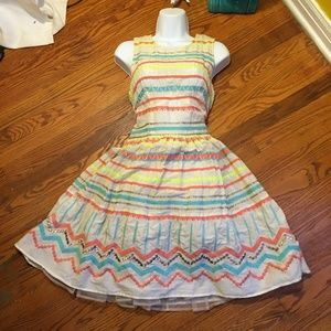 New Vintage Dress with attached Tutu!!!
